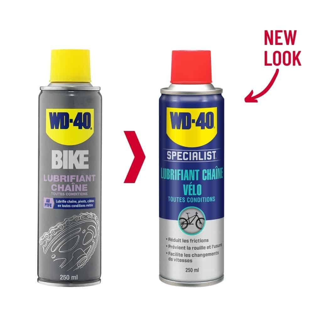 lubrifiant chaîne toutes conditions wd 40 specialist vélo 250 ml new look 1000x1000