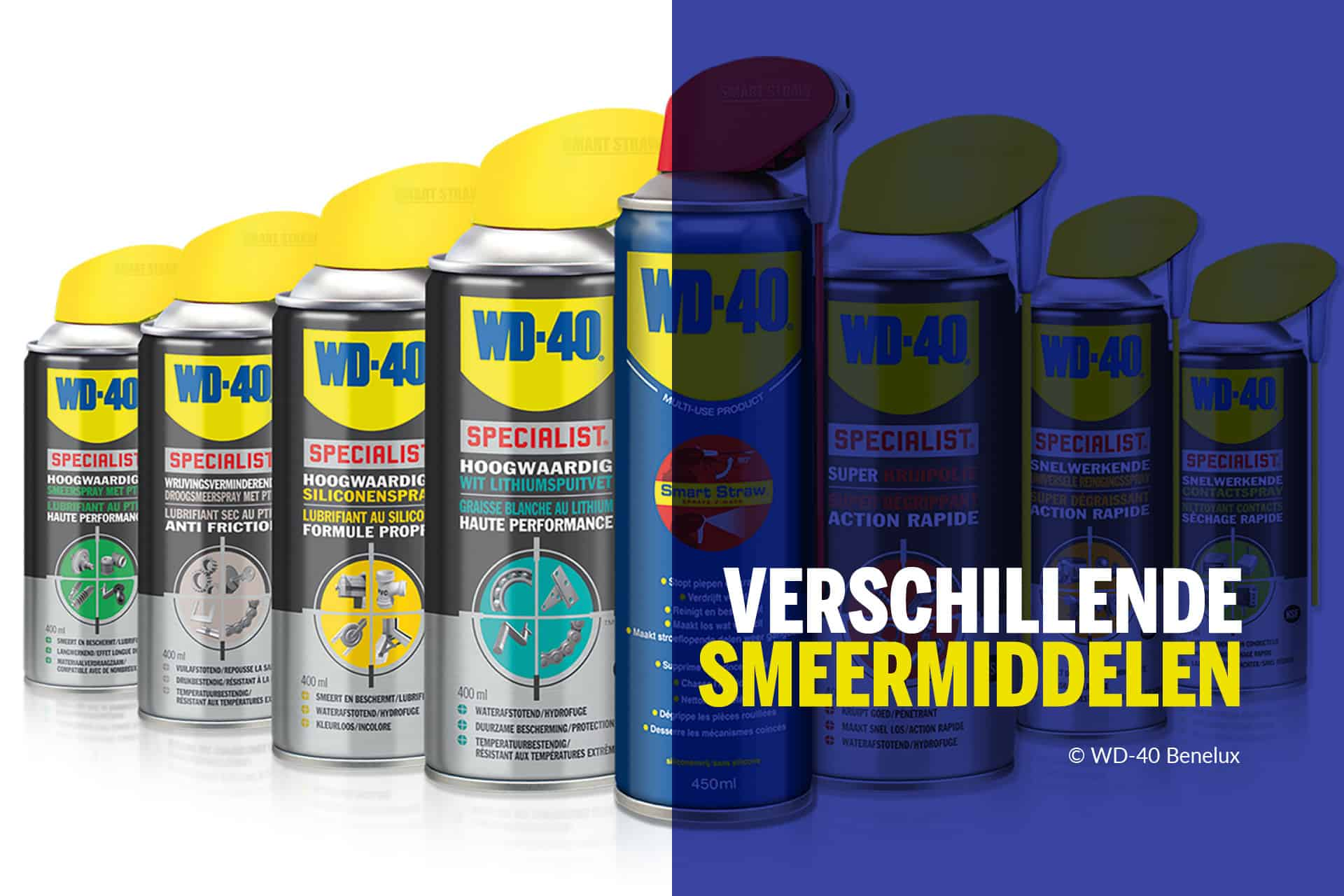 Differents lubrifiants