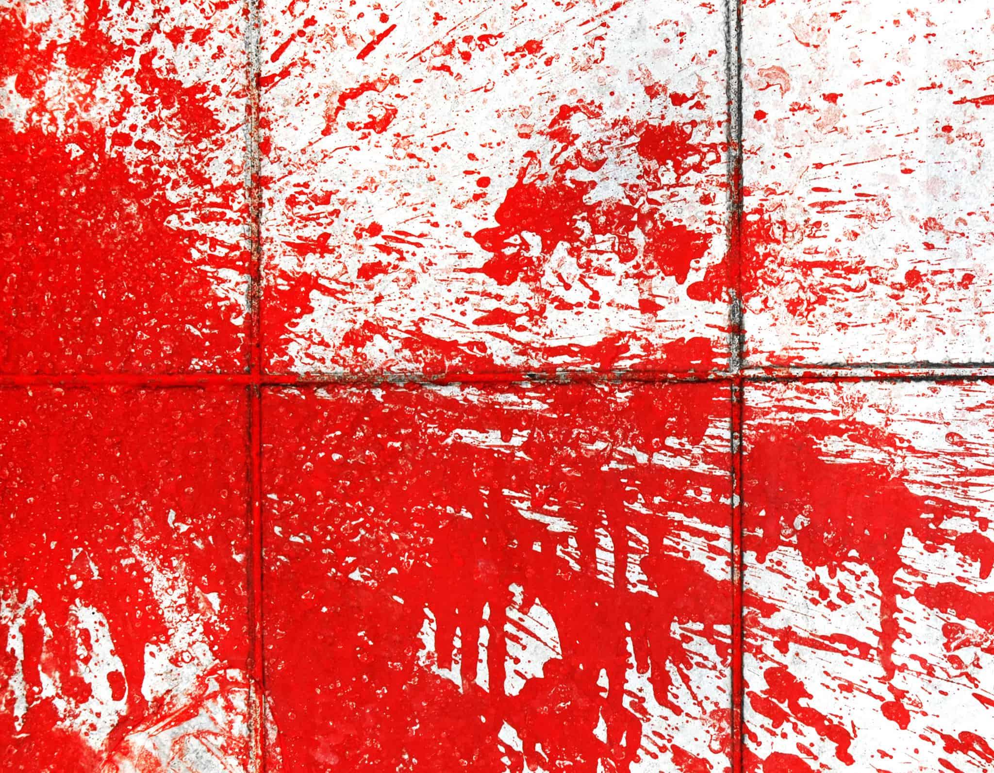 Enlever peinture sol carrelé