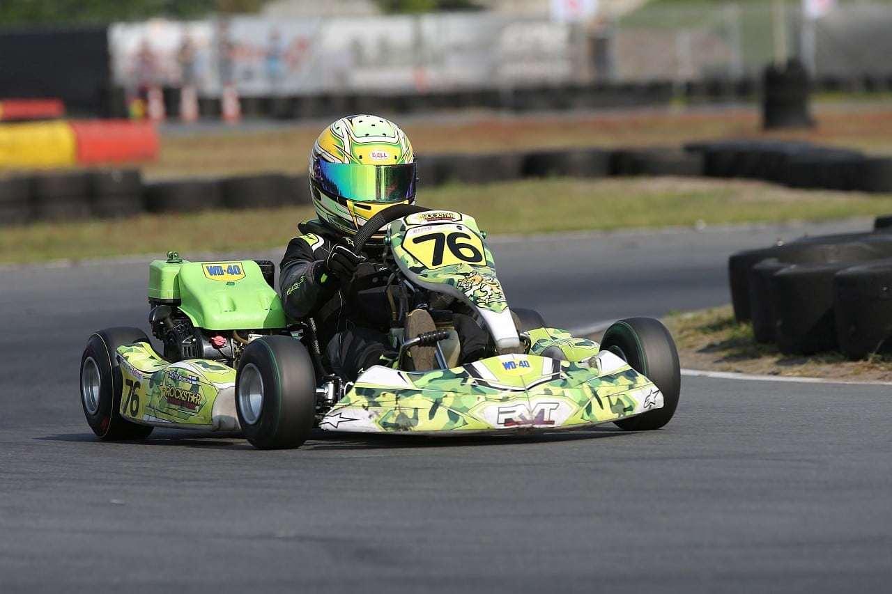 nk 4t karting racer